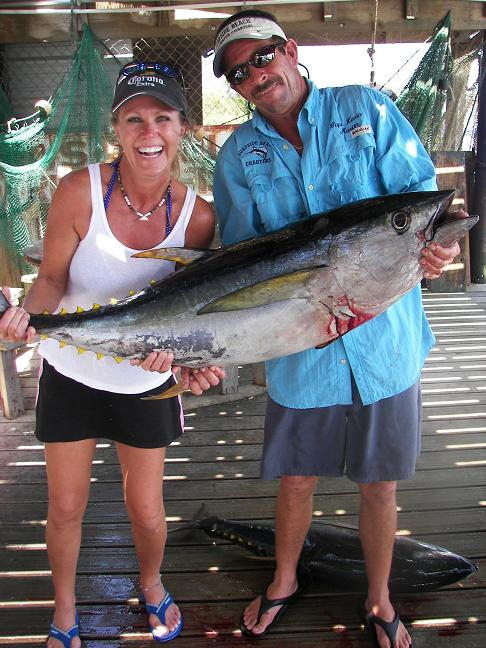 Offshore surfside beach charters freeport blue water for Deep sea fishing houston